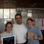 Kristen and Annali with Gustavo, director of Infancia sin fronteras
