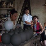 Stages of ceramic making