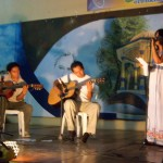 "Dalena performs ""Dale Una Luz"" at the Despedida"