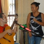 Dalena performs with Moisés by special request