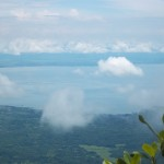A closer view of Lake Nicaragua