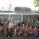 group picture before leaving Managua for Jinotepe