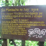 """Without Mombacho there is no water"""
