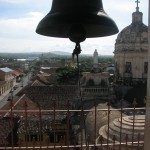 Bell tower in Iglesia de la Merced