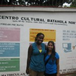 Rachel and Anna at Batahola Norte