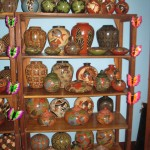 some of the pottery for sell