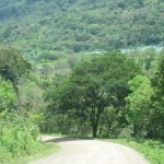 on the road to Selva Negra, outside Matagalpa