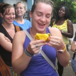Kat loves mangos too!