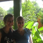 Arielle and Alisha going to Jinotega