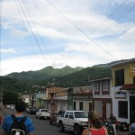 walking the streets of Matagalpa