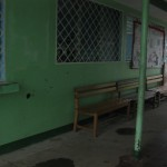 Waiting area at the health center