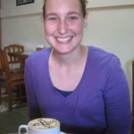 Alisha enjoying some Jinotega coffee