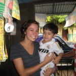 Arielle and her host nephew