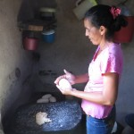 Maria J's host mother, also named Maria, makes cuajada, a simple cheese that is a staple in rural Nicaragua.