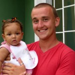 Yuriy with little neice Gancy