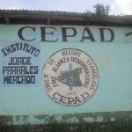 Jinotepe Office of CEPAD, the Council of Protestant Churches of Nicaragua, where we have Spanish classes on weekday mornings