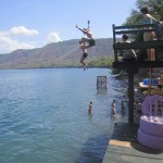Experiencing Laguna de Apoyo from an exciting vantage point