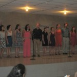 A group number (in Spanish) that Dalena taught the students