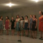 The Women's World Choir was a HUGE hit!