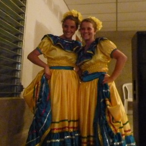 Anika and Sam wowed us with a folkloric dance