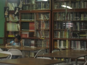 The Library at Batahola Norte