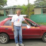 Don José, our trusty taxi driver and friend