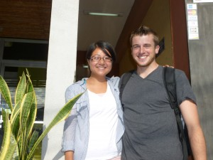 Drea and Jake in Matagalpa