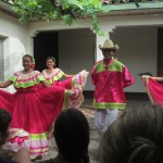 Traditional folklore dancers in Masatepe