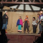 A play about deforestation and other environmental issues presented by the children and youth of El Logartillo.