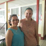 Emma with her host mom, Imara, who also serves as the director of Colegio Bautista.