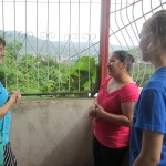 Sophie's host mom sharing about Matagalpa and how well Sophie is doing at the school and at her home.