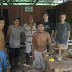 The project enables these men to earn income by practicing an ancient trade
