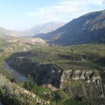 Near the top of Colca Canyon