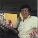 Juanito, our faithful driver