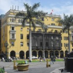 Lima is famous for its colonial-era balconies