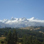 The Cordillera Blanca (White Mountains)