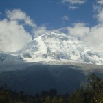 Huascaran is Peru's highest peak at 6,768 meters (22,205 feet)
