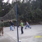 Volleyball is a very popular sport in Peru
