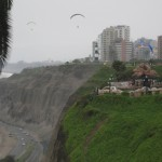 The cliffs of Miraflores