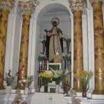 At Santo Domingo Monastery, the chapel dedicated to the Peruvian saint Martin de Porres