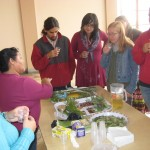 Taste-testing a variety of teas for a variety of ailments