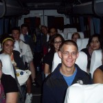 On the bus to Home Peru