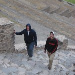 The steps at Ollantaytambo