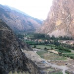 The Sacred Valley from Ollantaytambo