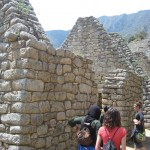 Guest houses on Machu Picchu