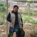 Gregoria talks about the community gardens of Villa Maria