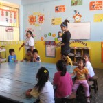 the preschool room