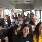 The bus ride to Cono Sur