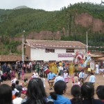 local festivities on our route to Tipon