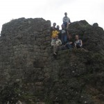 at Pisac's archeological site